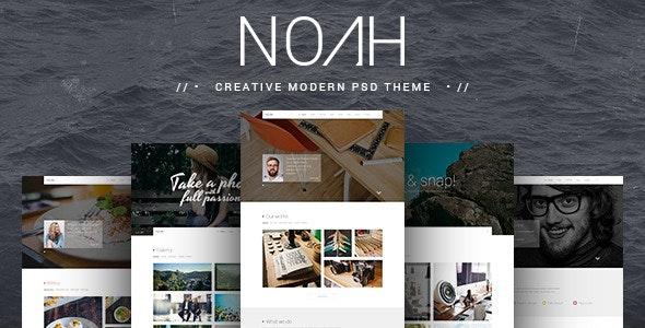 NOAH | PSD Theme - Creative Photoshop