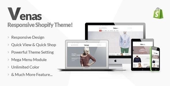 Venas - Responsive Shopify Theme - Fashion Shopify