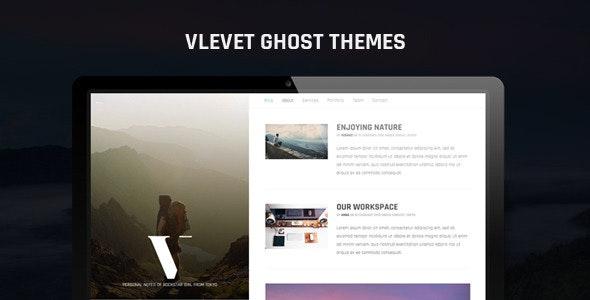 Vlevet Traveler Ghost Theme - Ghost Themes Blogging