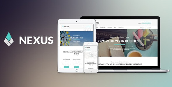 Nexus - Elegant Business WordPress Theme - Business Corporate