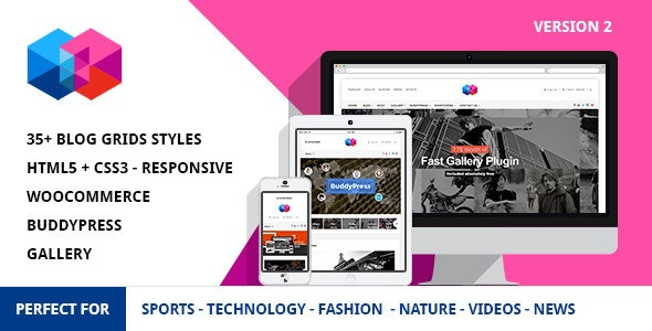 Smew - Multipurpose Magazine Wordpress Theme - News / Editorial Blog / Magazine