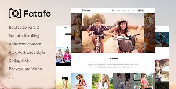 Fatafo - Creative Portfolio Html Template - Photography Creative