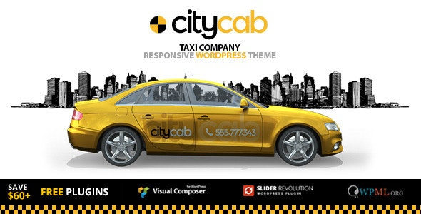 CityCab - Taxi Company  WordPress Theme - Miscellaneous WordPress
