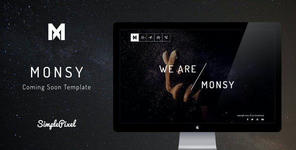 Monsy - Creative Coming Soon Template