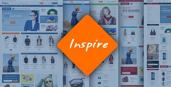 Inspire - Responsive Magento Theme - Shopping Magento