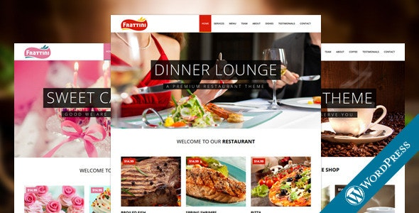 Frattini | A Premium Restaurant, Cakes and Coffee WordPress Template - Restaurants & Cafes Entertainment