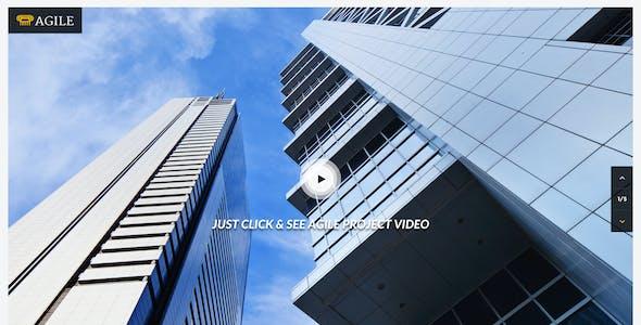 Agile - Building & Construction PSD Template