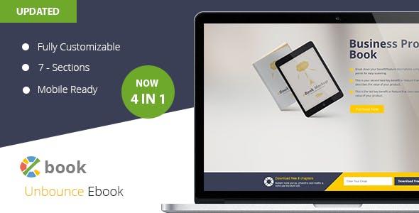 Ebook Reader Website Templates from ThemeForest