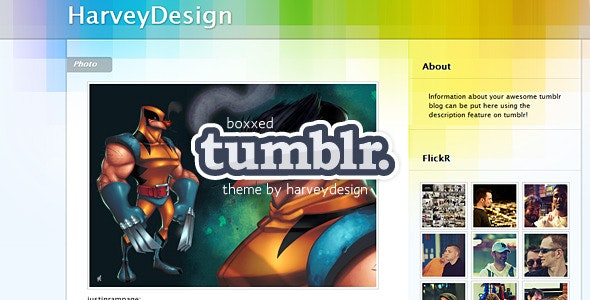 Boxxed Tumblr Theme - Blog Tumblr