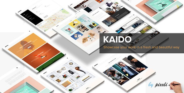 KAIDO - Multipurpose Adobe Muse Template - Creative Muse Templates