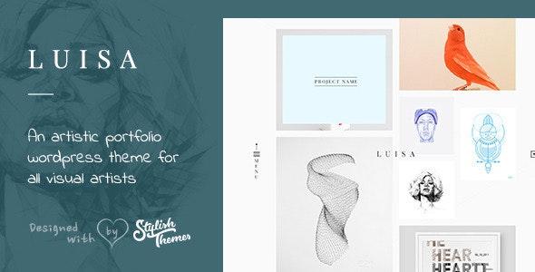 LUISA - Minimalist Portfolio & Blogging WP Theme - Portfolio Creative