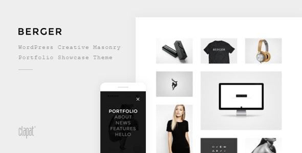 Berger - WordPress Creative Agency Portfolio Theme - Portfolio Creative