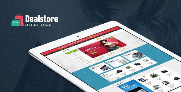 Ves Deals Multipurpose Responsive Magento Theme - Shopping Magento