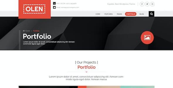 OLEN - Multipurpose Corporate PSD Template