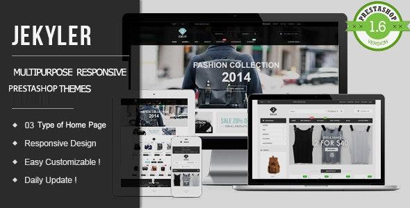 Jekyler - Multipurpose Responsive PrestaShop Theme - PrestaShop eCommerce