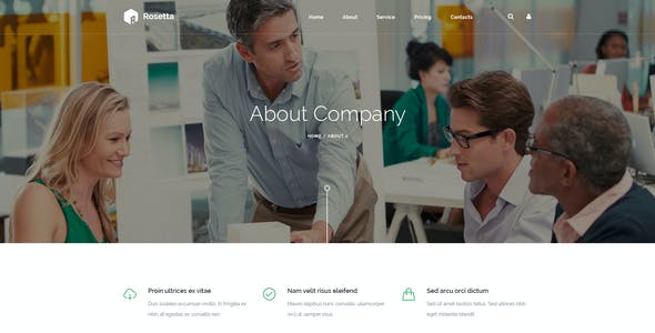 Rosetta - Multipurpose HTML Template