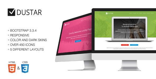 Dustar - Multipurpose Landing Page - Corporate Landing Pages
