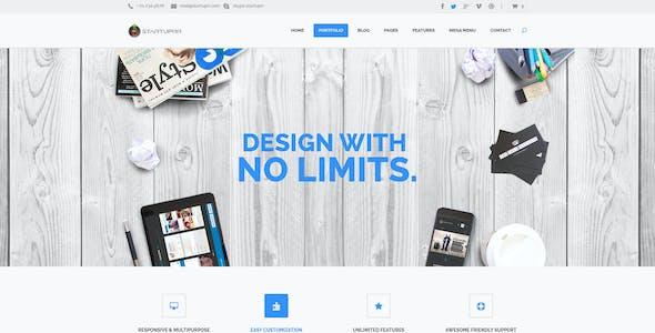 Startuprr – Multi-Purpose PSD Template