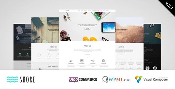 Shore - Creative MultiPurpose WordPress Theme - Corporate WordPress