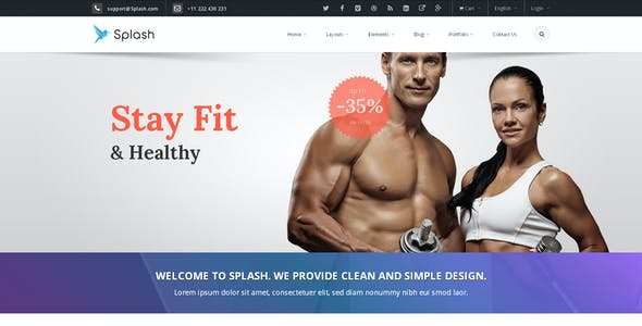 Splash - Bootstrap Responsive Multi-Purpose HTML5