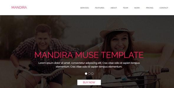 Mandira - Multipurpose Muse Template - Corporate Muse Templates