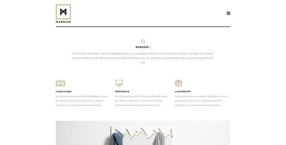 Manheim - Creative HTML Template