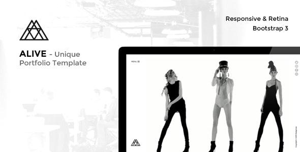 ALIVE - Portfolio for Creatives & Agency - Portfolio Creative