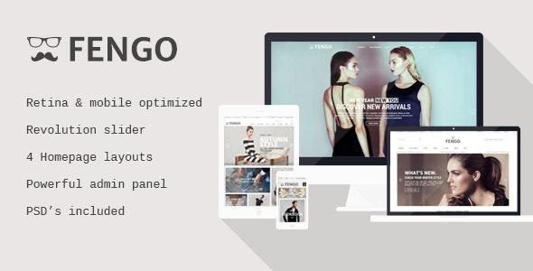 Fengo - Responsive Magento Theme - Shopping Magento