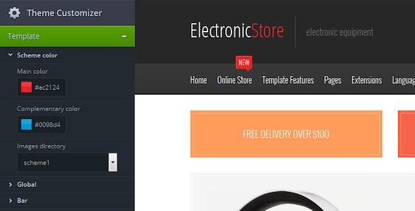 Electronics - multipurpose VirtueMart online store