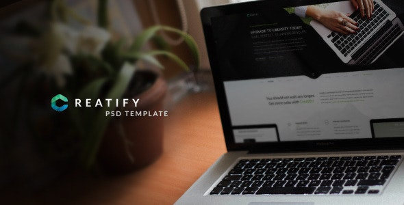 Creatify | Multipurpose PSD Template - Marketing Corporate