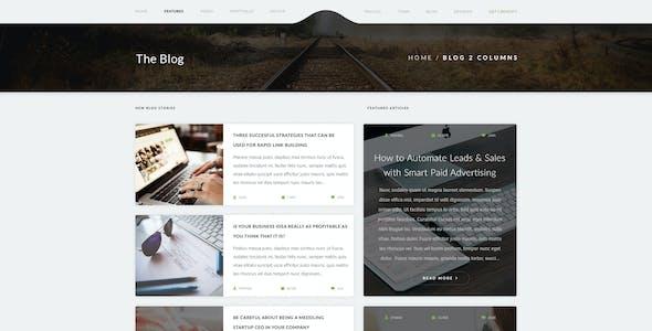 Creatify | Multipurpose PSD Template