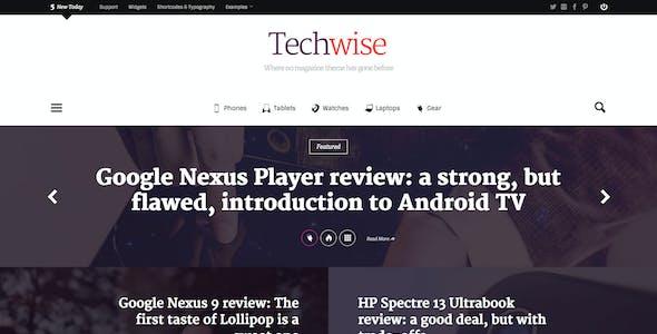 Techwise - Drag & Drop Magazine w/ Comparisons