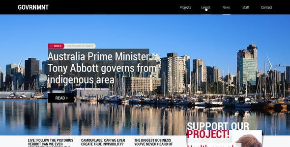 Government - Responsive Political Template