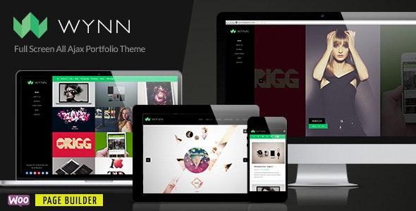 Wynn - Fullscreen Ajax Portfolio / Photography Theme - Portfolio Creative