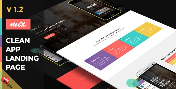 Responsive Bootstrap App Landing Page - Apps Technology