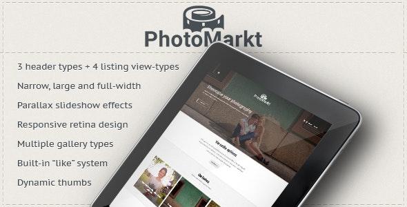 PhotoMarkt - Photography eCommerce Theme - Photography Creative