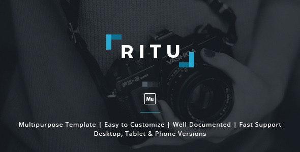 Ritu - Muse Template - Creative Muse Templates