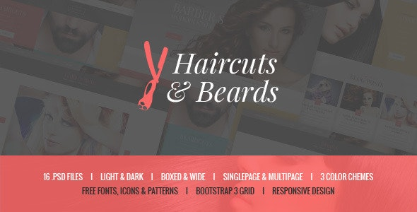 Haircuts & Beards - Barbershop & Hair Salon - Health & Beauty Retail