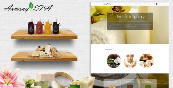 Armony Spa - Beauty Salon Responsive Theme - Health & Beauty Retail