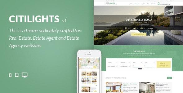 CitiLights - Real Estate Drupal Theme - Drupal CMS Themes