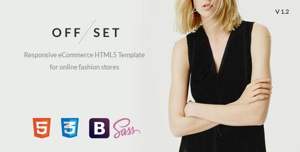OFFSET - eCommerce, Portfolio HTML5 Template - Fashion Retail