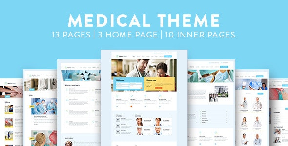 Medical PSD Template - Health & Beauty Retail