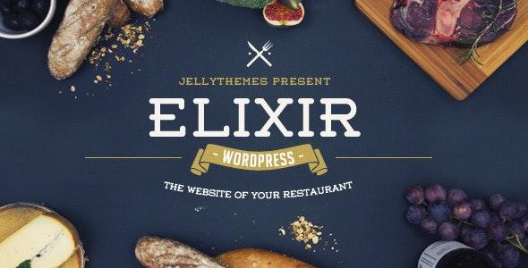 Elixir - Restaurant WordPress Theme - Restaurants & Cafes Entertainment