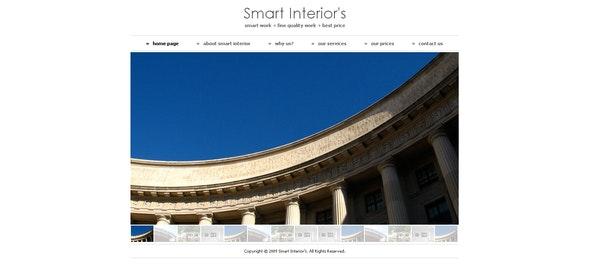 Smart Interiors - Creative Site Templates