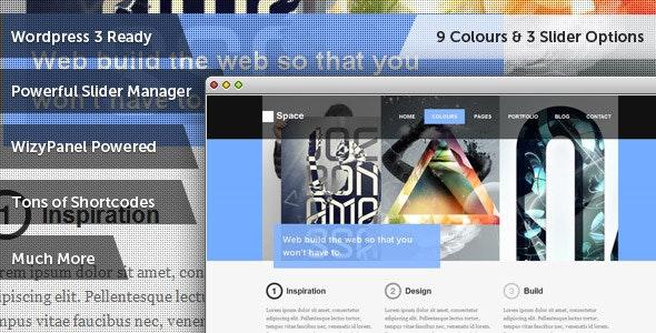 Space Creative Personal & Blog WordPress Theme - Creative WordPress