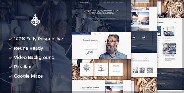Yacht - Marine HTML 5 Template - Business Corporate