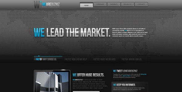 Business Template #11 - Business Corporate