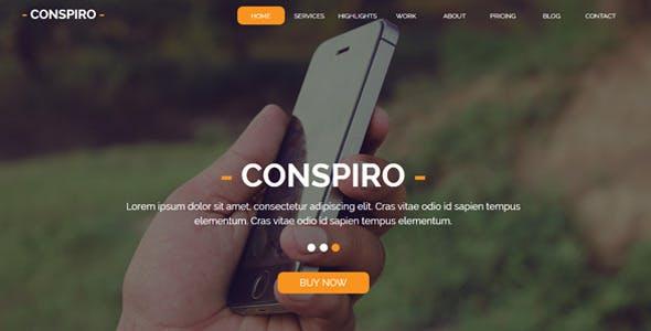 Conspiro - Multipurpose Muse Template