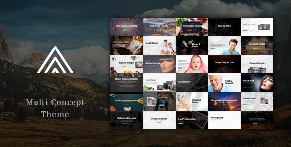 Arno - Multi-Concept Theme - Business Corporate