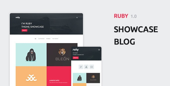 Ruby - Portfolio and Blog WordPress Theme - Portfolio Creative